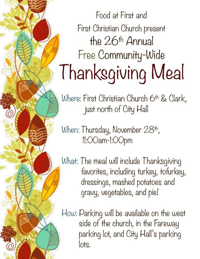 FAF Thanksgiving 2013