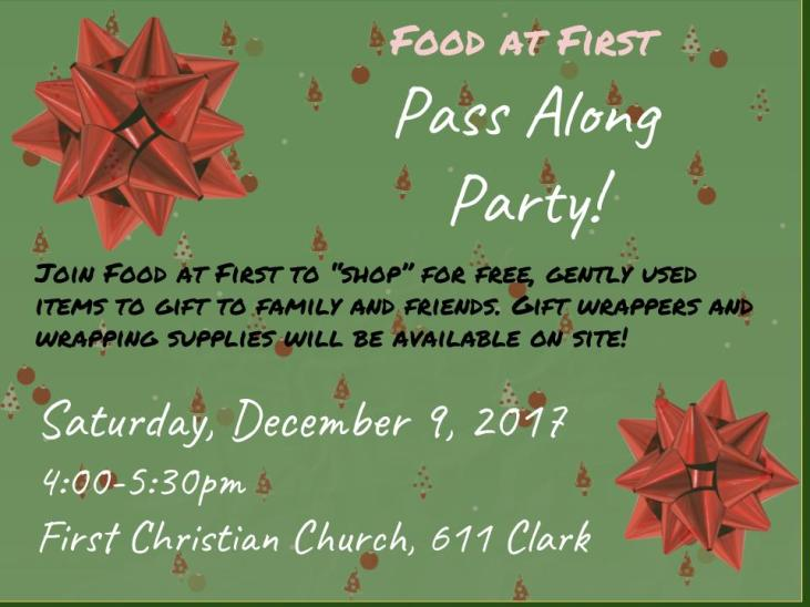 Pass Along Party FAF 2017