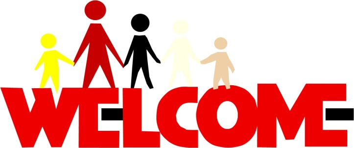 welcome logo w people