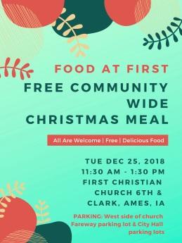 2018 FAF Christmas Flyer
